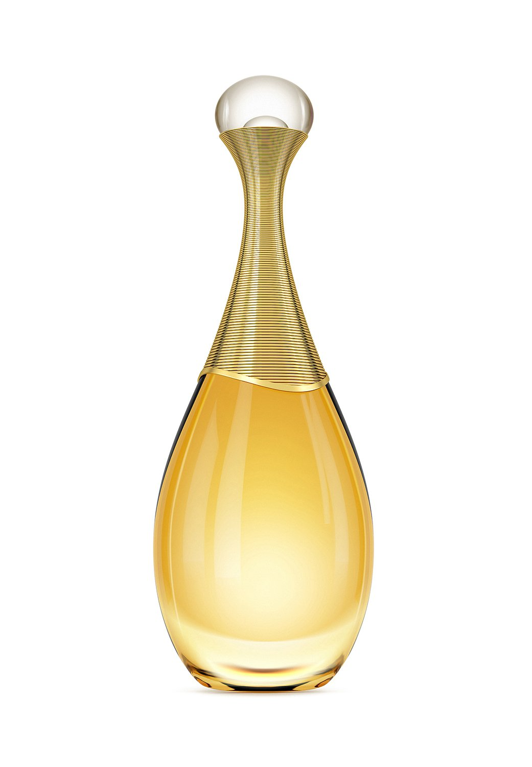 CGI product photograph of Dior bottle