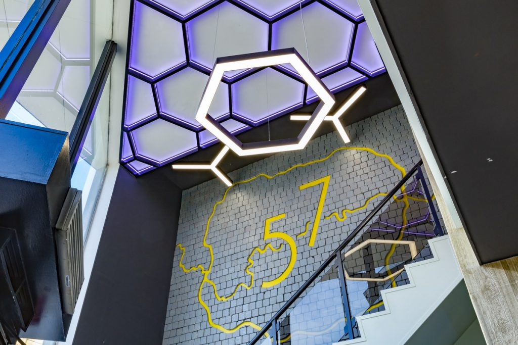 Reception Staircase, 57-Southwark-Road, London