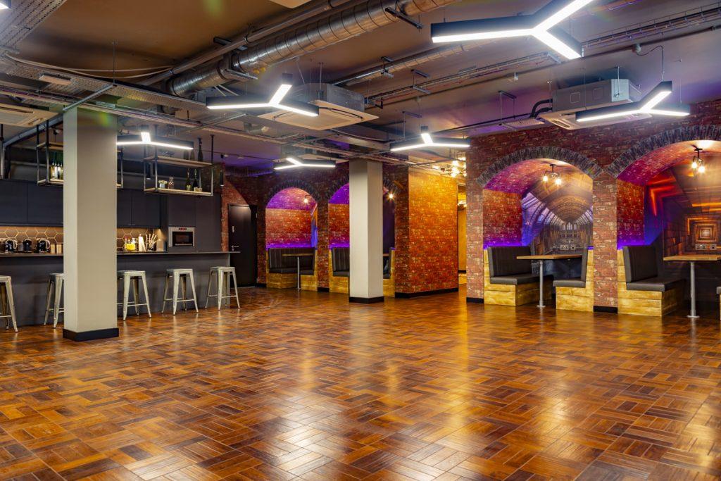 Restaurant area, 57-Southwark-Road, London