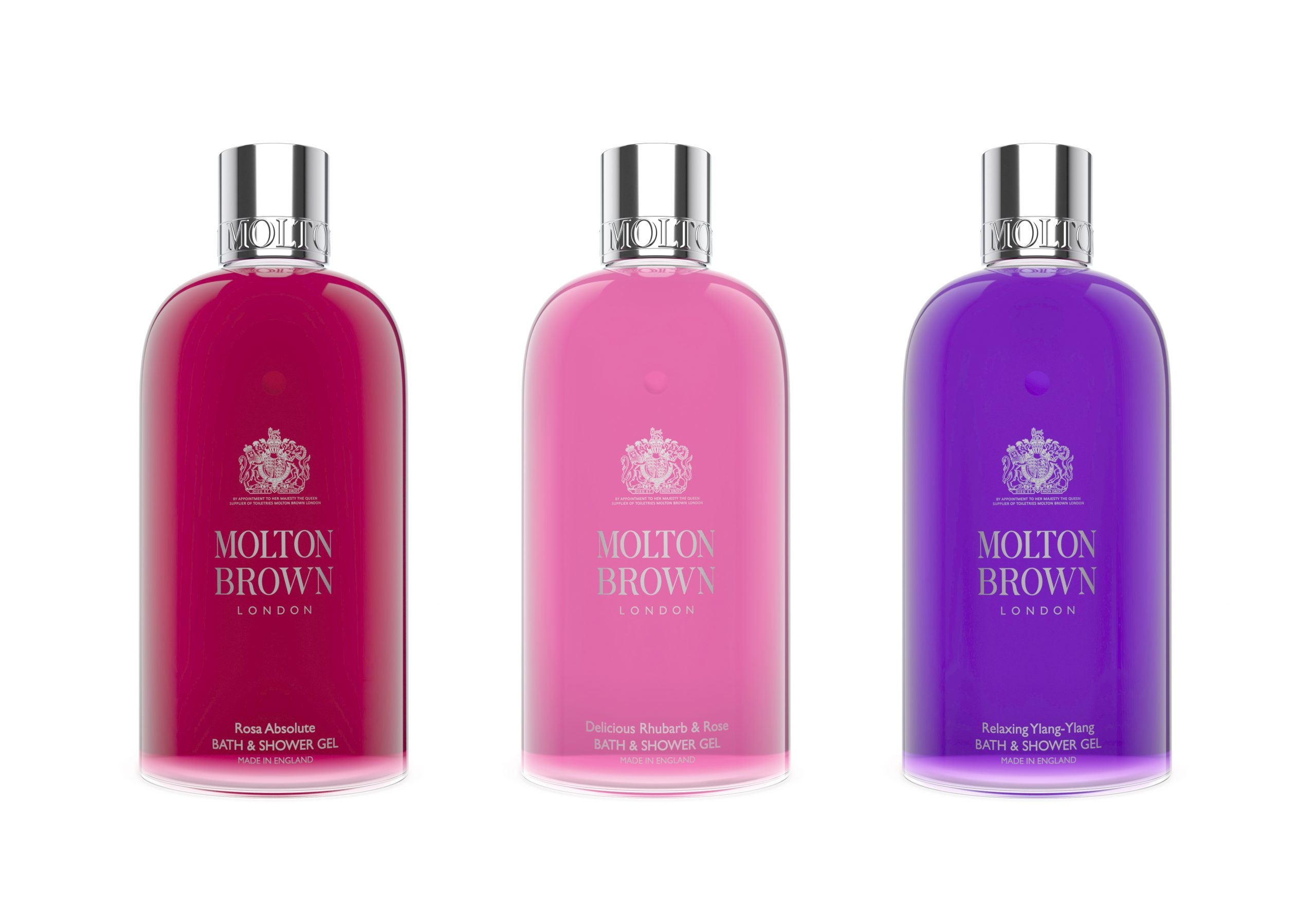 CGI Product photography-Molton Brown Bottles