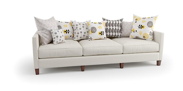 CGI Product photography-sofa and cushions-1