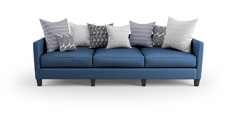 CGI Product photography-sofa and cushions-2